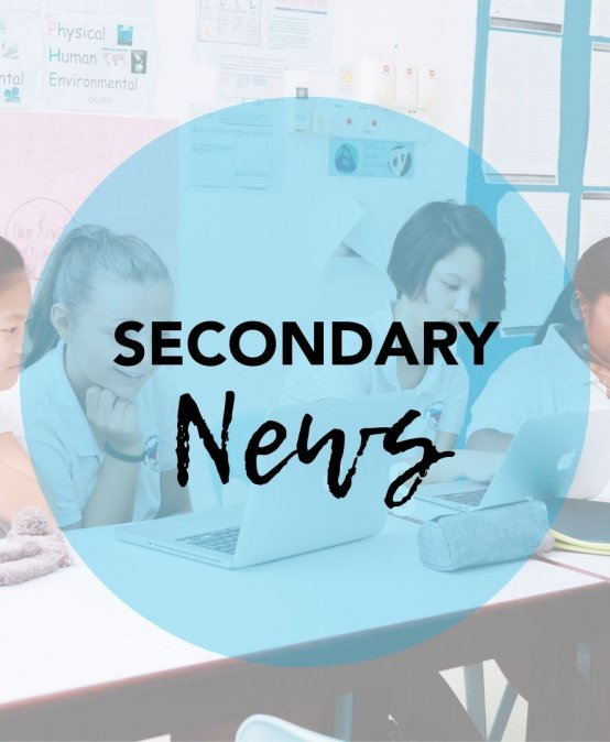 From the Head of Secondary 07.12.2019
