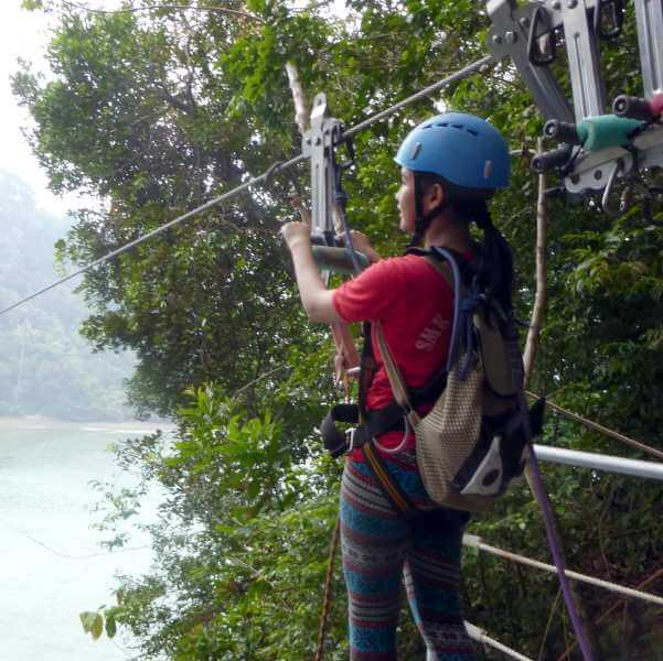 DofE Students Explore Gaya Island
