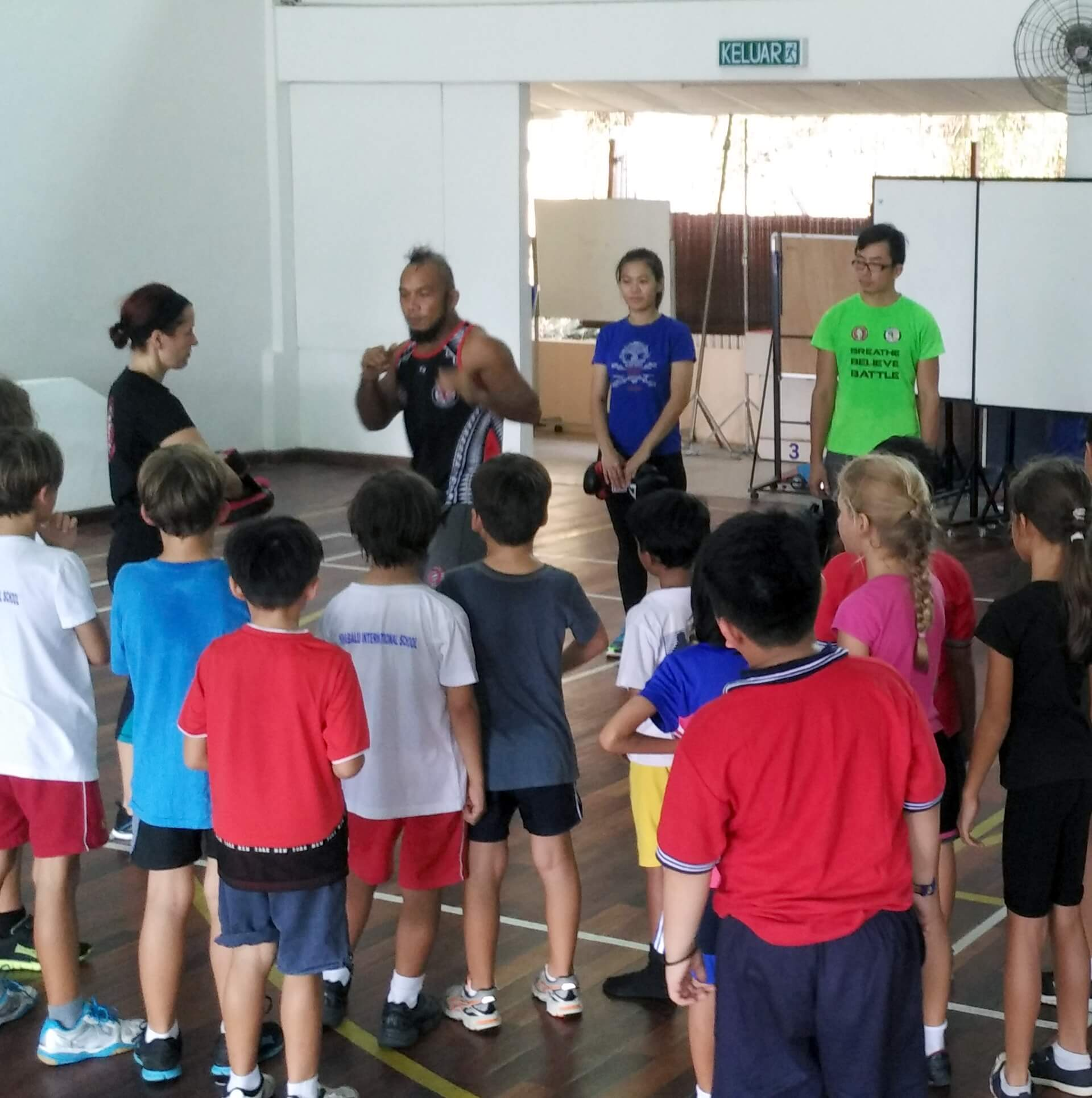 School Welcomes National Athlete to Support ECA Programme