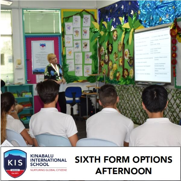 Sixth Form Options Afternoon