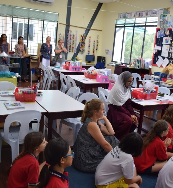 Primary Department Welcomes Parents Into Class