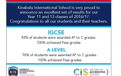 Examination Success for the Class of 2016-17