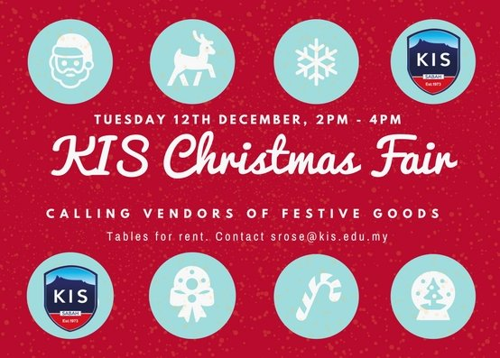 KIS Christmas Fair