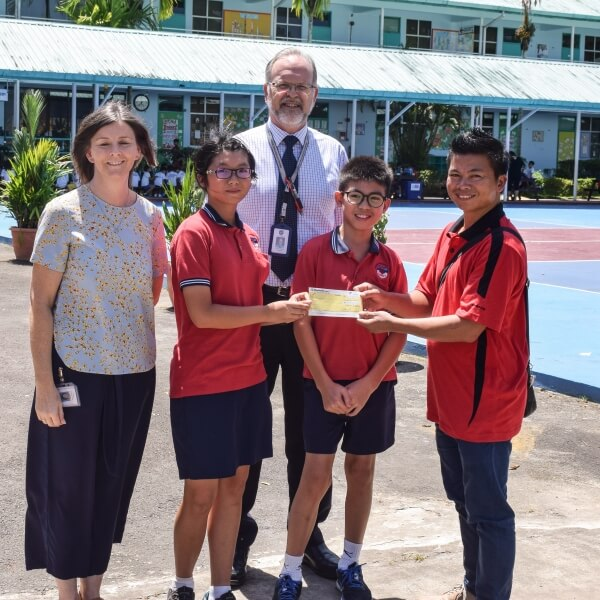 Charity Committee Donation to the Don Bosco Children's Home