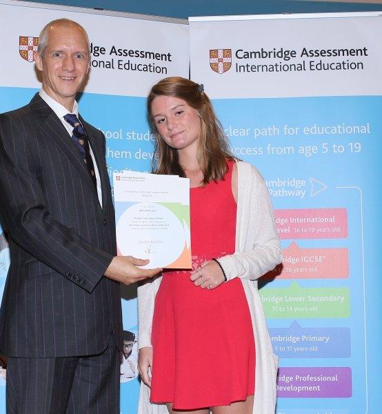 Cambridge Examination Award Winners at KIS