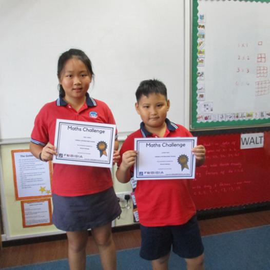 FOBISIA Online Maths Challenge Success