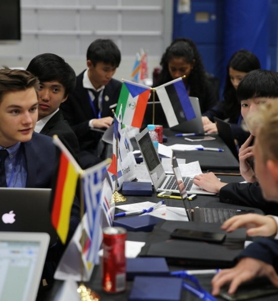 Students Attend CISSMUN