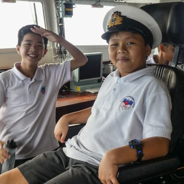 Year 7 Trip to HMS Argyll